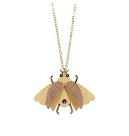 """Insect"" Pendant Necklace"