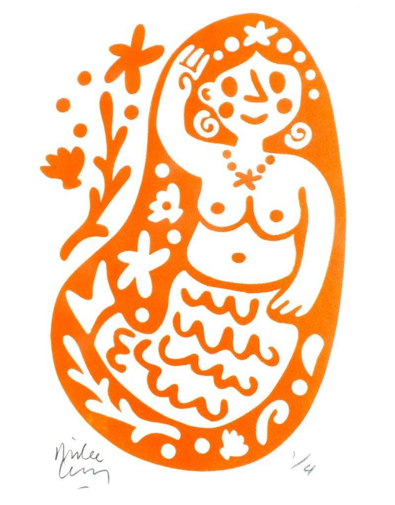 Teya's Mermaid (orange)