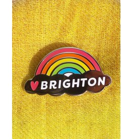 Enamel Brooch: Brighton