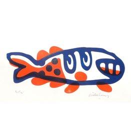 Grinning Fish (Orange)