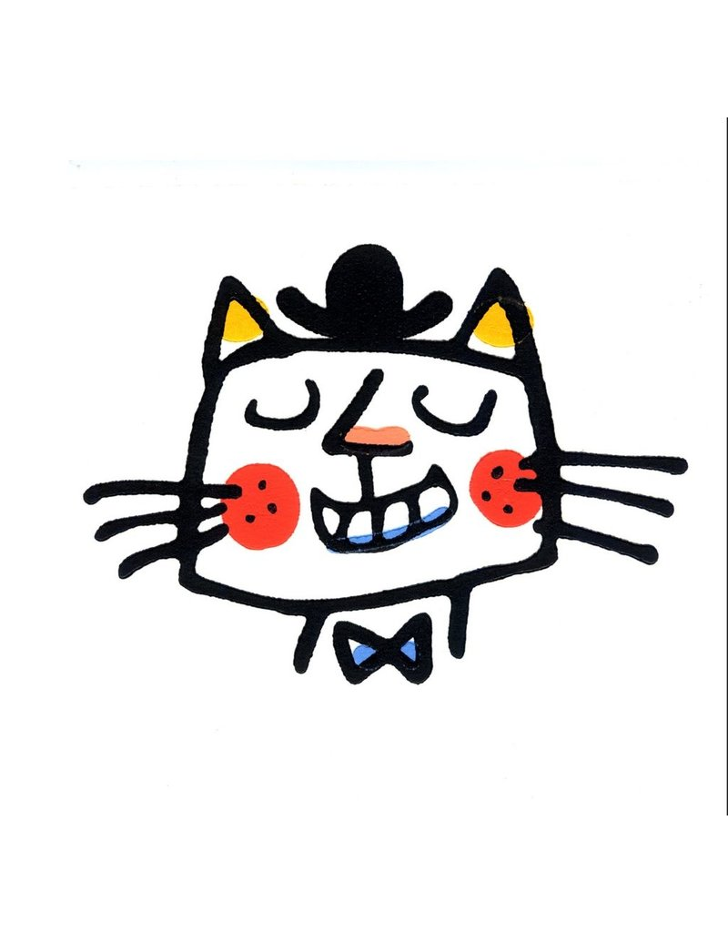 Boss Cat in a Bowler Hat