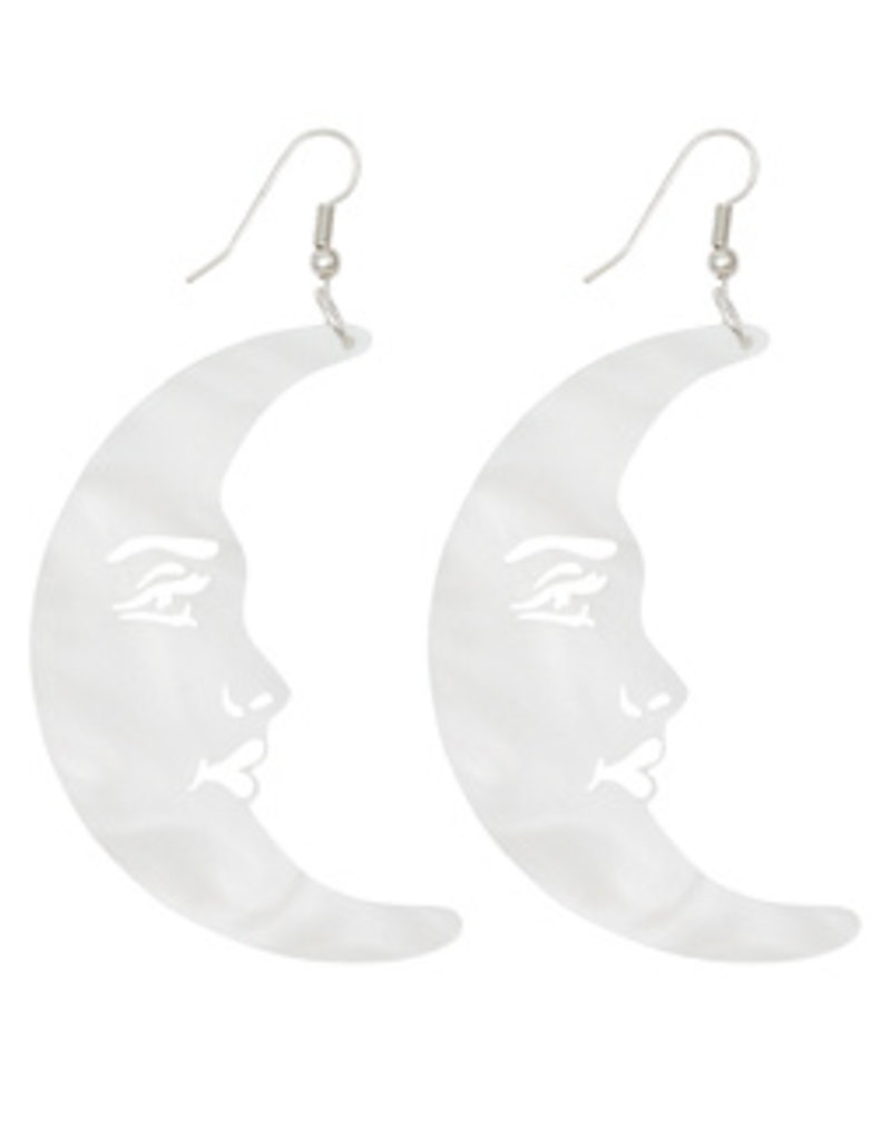 La Luna Moon Earrings