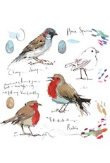 Sketchbook - Robin & House Sparrow