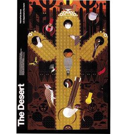 Charley Harper large poster - The Desert