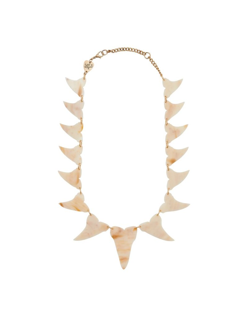 Shark Tooth Statement Necklace