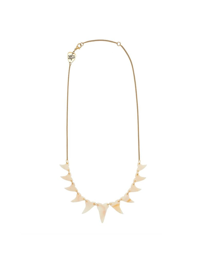 Shark Tooth Link Necklace