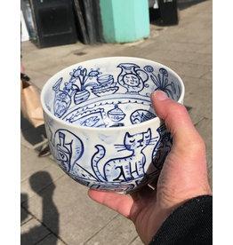 Deep fruit bowl