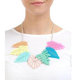 Fauve Foliage Necklace