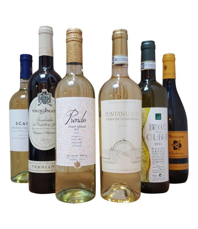 Wijnpakket Italiaans wit
