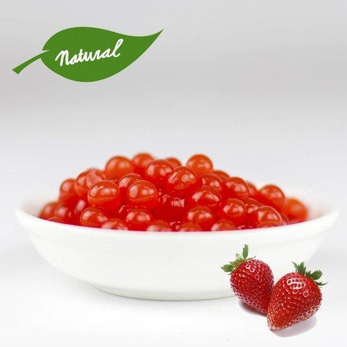 Fruchtperlen für Bubbletea - Erdbeere - ( 3,2 kg)