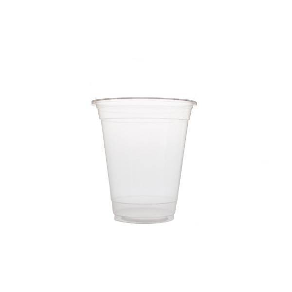 Plastic cups 360ml Blanko