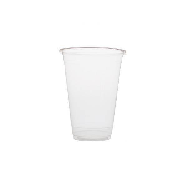 Plastic cups 500ml Blanko