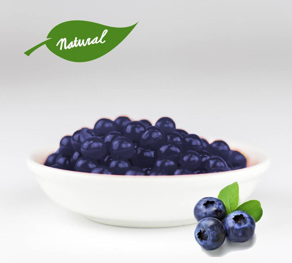 - Blueberry - Fruit Pearls ( 3.2kg TUBS )