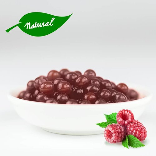 - Raspberry - Fruit Pearls ( 3.2kg TUBS ) -