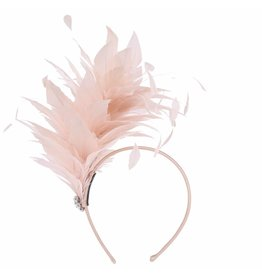 Peach Accessories SYH1161A Blush Pink Hairband