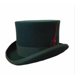 Karma Top Hat Dark Green