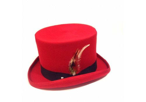Karma Top Hat Red