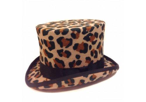 Karma Top Hat Leopard Print