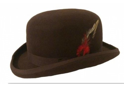 Karma Bowler Hat Brown