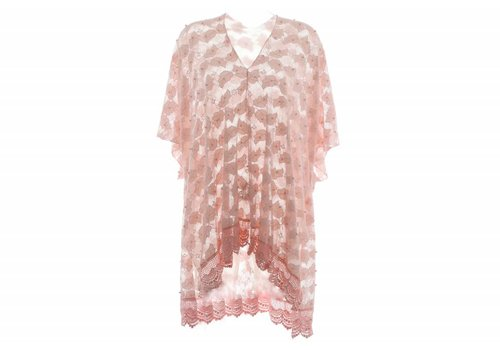 Kelly Craig Pink Long Cardi