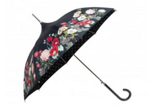 Umbrellas SI0759 Floral Pagoda Umbrella