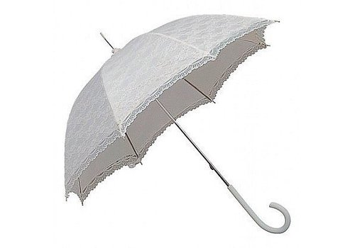 Umbrellas SI0147A-WHITE LACE UMBRELLA