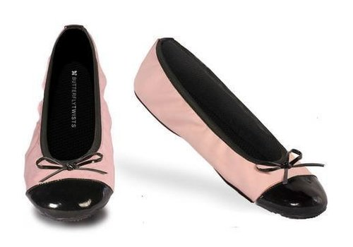 Butterfly Twists Kate Pink/Black