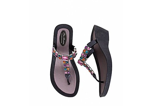 Pia Rossini CORSICA Jewelled Sandal