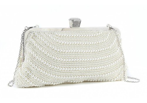 Peach Accessories 8027 oversized Pearl Bag