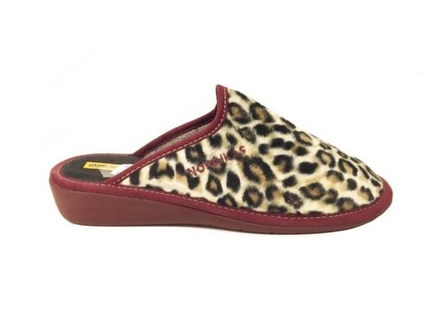 Nordikas 347/8 ETHER Leopard print Slippers