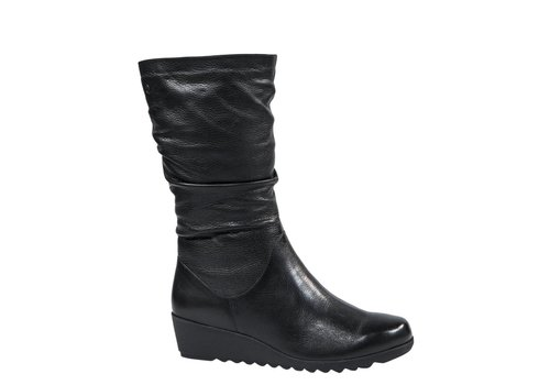 Caprice Boots 26455 Black leather