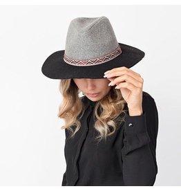 Pia Rossini CAROLINE Hat Black/Grey