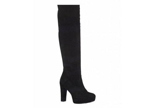 Tamaris 25503 Black over-the-knee boot