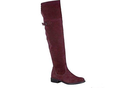 Tamaris 25811 Wine Suede Boots