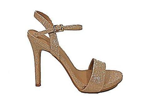 Valentino Conte HF88026-1 Rose Gold Glitter