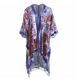 Jay Ley DP24A silk Devore Peony Jacket