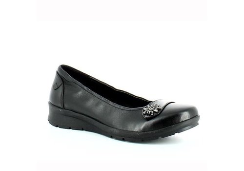 Heavenly Feet CARNEGIE Black leather
