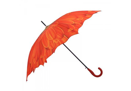 Umbrellas 1379 Orange Sunflower Umbrella
