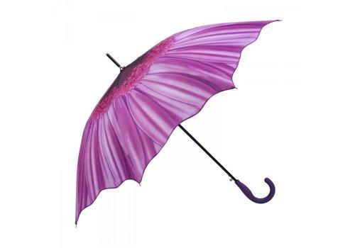 Umbrellas 1379 Purple Sunflower Umbrella
