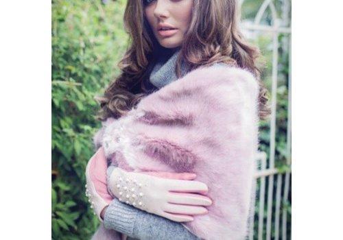 Kelly Craig Ke1704061 Faux Fur Stole Pink