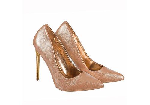 Valentino Conte 2562-1 Rose Gold Hi Heels