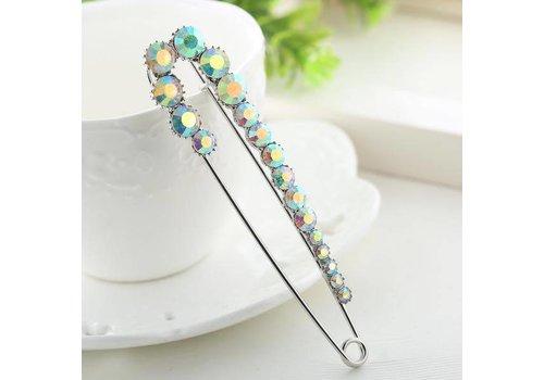 Peach Accessories 6827 Diamanté Pin