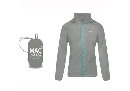 Mac in a Sac Mac in a Sac waterproof Grey  Jacket