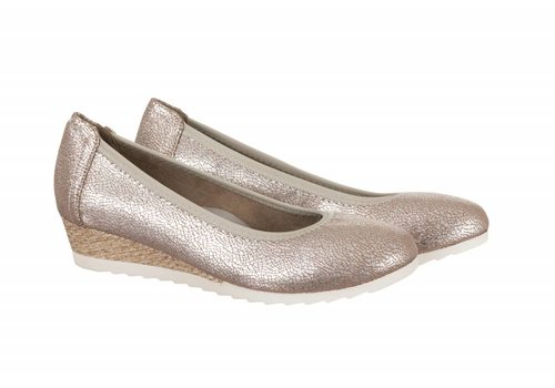 Sprox Sprox 387211 Taupe Metallic Wedge