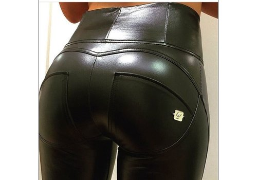 FREDDY'S WRUP1HX01E_N High Waist Faux Leather