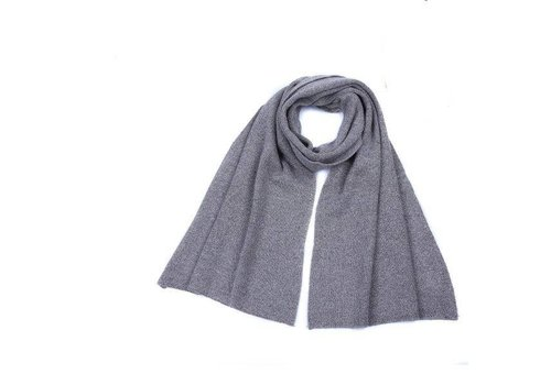 Peach Accessories Peach SD17 Wool Scarf Silver