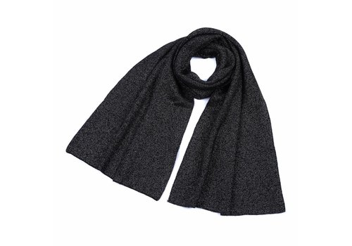 Peach Accessories Peach SD17 Black Wool Scarf