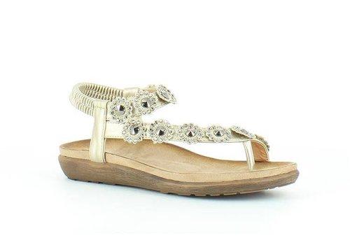 Heavenly Feet LULU Gold