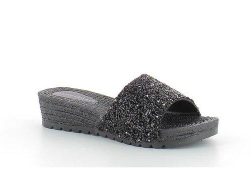Heavenly Feet ZINNIA Black
