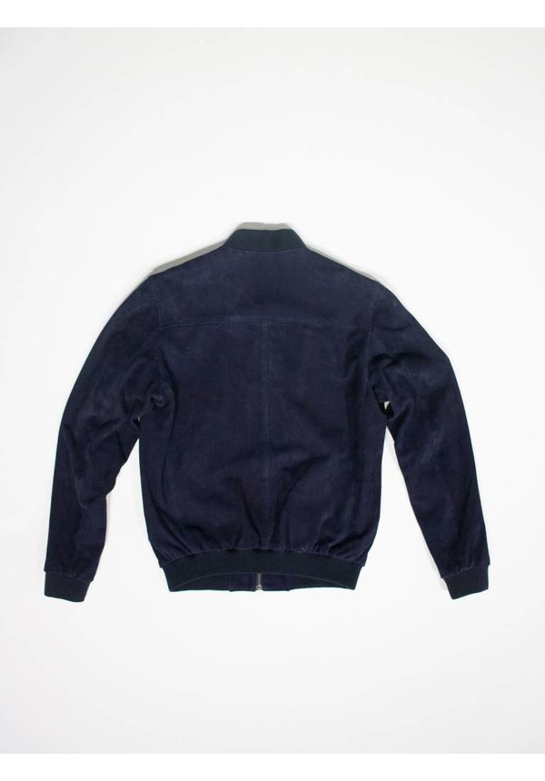 Christopher Navy Suede